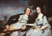 Charles Wilson Peale Benjamin and Eleanor Ridgely Laming oil painting picture wholesale