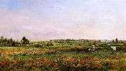 Charles-Francois Daubigny Fields in the Month of June oil painting picture wholesale
