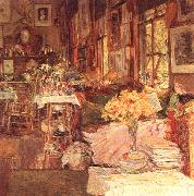 Childe Hassam The Room of Flowers oil painting picture wholesale