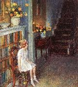 Childe Hassam Clarissa oil painting picture wholesale