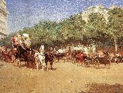 Childe Hassam Le Jour du Grand Prix oil painting picture wholesale