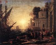 Claude Lorrain The Disembarkation of Cleopatra at Tarsus dfg oil painting picture wholesale