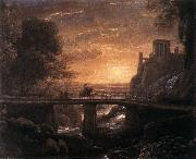 Claude Lorrain Imaginary View of Tivoli dfg oil painting picture wholesale