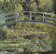 Claude Monet Waterlilies and Japanese Bridge oil