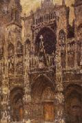Claude Monet Rouen Cathedral oil painting picture wholesale
