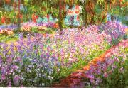 Claude Monet Artist s Garden at Giverny oil painting picture wholesale