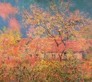 Claude Monet Printemps a Giverny oil painting picture wholesale