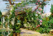 Colin Campbell Cooper Summer Verandah oil painting picture wholesale