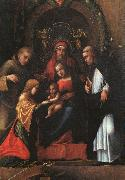 Correggio The Mystic Marriage of St.Catherine oil painting artist