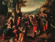 Correggio The Adoration of the Magi_3 oil