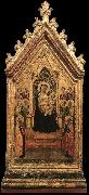 DADDI, Bernardo Madonna and Child Enthroned with Angels and Saints dfg oil painting picture wholesale