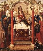 DARET, Jacques Altarpiece of the Virgin inx oil painting picture wholesale