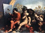 DOSSI, Dosso Jupiter, Mercury and the Virtue df oil painting picture wholesale