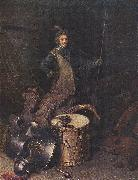 DOU, Gerrit Officer of the Marksman Society in Leiden fg oil painting artist