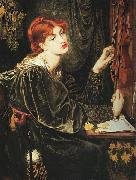 Dante Gabriel Rossetti Veronica Veronese oil painting picture wholesale