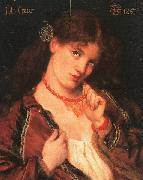 Dante Gabriel Rossetti Joli Coeur oil painting picture wholesale