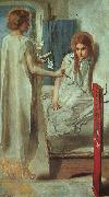Dante Gabriel Rossetti Ecce Ancilla Domini ! oil painting picture wholesale