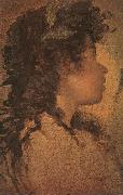 Diego Velazquez Study for the Head of Apollo oil painting artist
