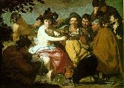 Diego Velazquez The Feast of Bacchus oil painting artist