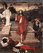 Dieric Bouts Resurrection oil painting picture wholesale