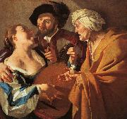 Dirck van Baburen The Procuress Spain oil painting reproduction