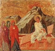 Duccio di Buoninsegna The Holy Woman at the Sepulchre oil painting picture wholesale