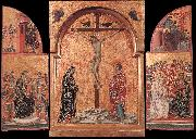 Duccio di Buoninsegna Triptych sdg oil painting picture wholesale