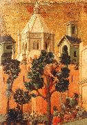 Duccio di Buoninsegna Entry into Jerusalem Spain oil painting reproduction