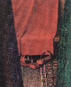 EYCK, Jan van Portrait of Giovanni Arnolfini and his Wife (detail)  yui oil painting picture wholesale