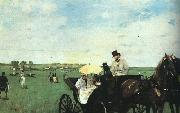 Edgar Degas At the Races in the Country oil painting picture wholesale