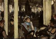 Edgar Degas Women in Front of a Cafe, Evening oil painting picture wholesale