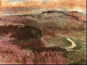 Edgar Degas Landscape with Hills oil painting picture wholesale