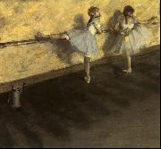 Edgar Degas Dancers Practicing at the Barre oil