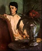 Edgar Degas Seated Woman oil painting picture wholesale