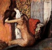 Edgar Degas After the Bath oil painting picture wholesale
