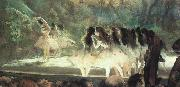 Edgar Degas Ballet at the Paris Opera oil painting picture wholesale