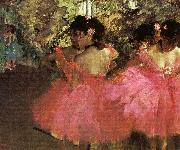 Edgar Degas Dancers in Pink_f oil painting picture wholesale
