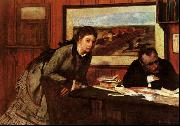 Edgar Degas Sulking oil painting picture wholesale