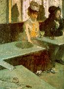 Edgar Degas Absinthe Drinker_t oil painting picture wholesale