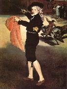 Edouard Manet Mlle Victorine in the Costume of an Espada oil painting picture wholesale