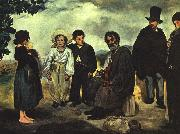 Edouard Manet The Old Musician oil