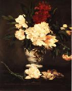 Edouard Manet Vase of Peonies on a Pedestal oil painting picture wholesale