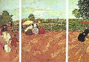 Edouard Vuillard Tuileries oil painting picture wholesale