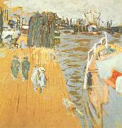 Edouard Vuillard Quay Le Pouliguen oil painting reproduction