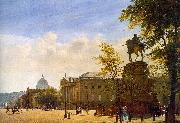 Eduard Gaertner Unter den Linden oil painting picture wholesale