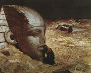 Ehilu Vedder Listening to the Sphinx oil painting picture wholesale