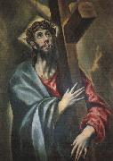 El Greco Christ Carrying the Cross oil painting picture wholesale