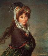 Elisabeth LouiseVigee Lebrun Portrait of a Young Woman-p oil painting picture wholesale