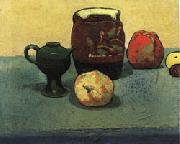 Emile Bernard Earthenware Pot and Apples oil painting artist