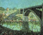 Ernest Lawson Spring Night at Harlem River oil painting picture wholesale